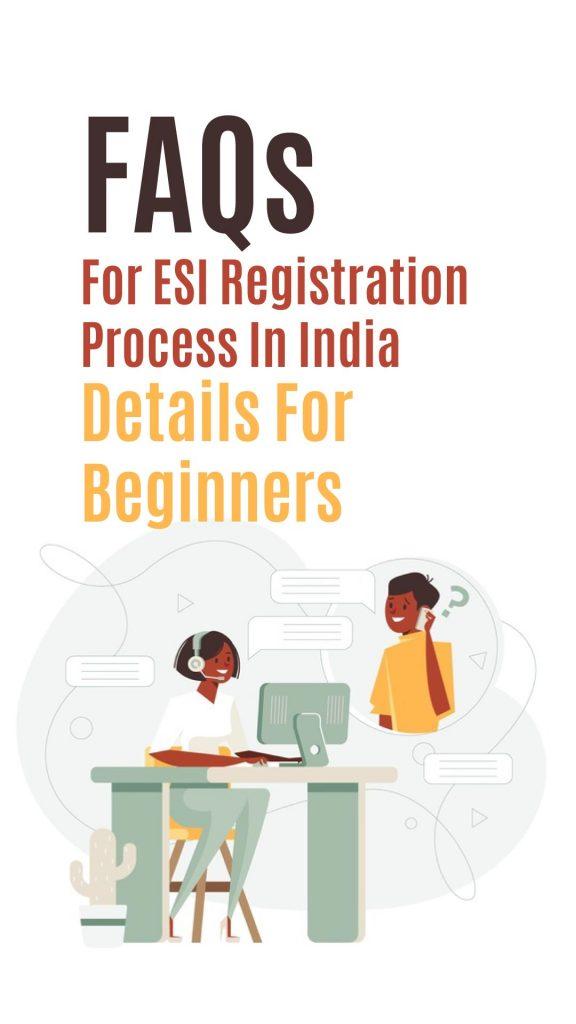 ESI registration process