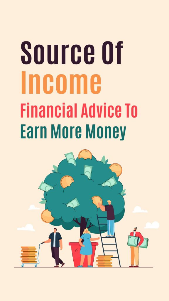 source of income