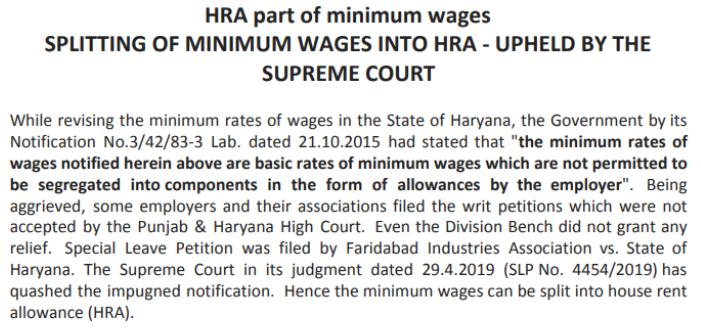 labour law updates 2019